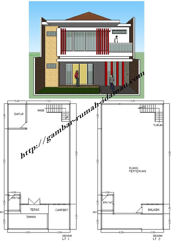 Images Of Gambar Desain Rumah Ukuran X
