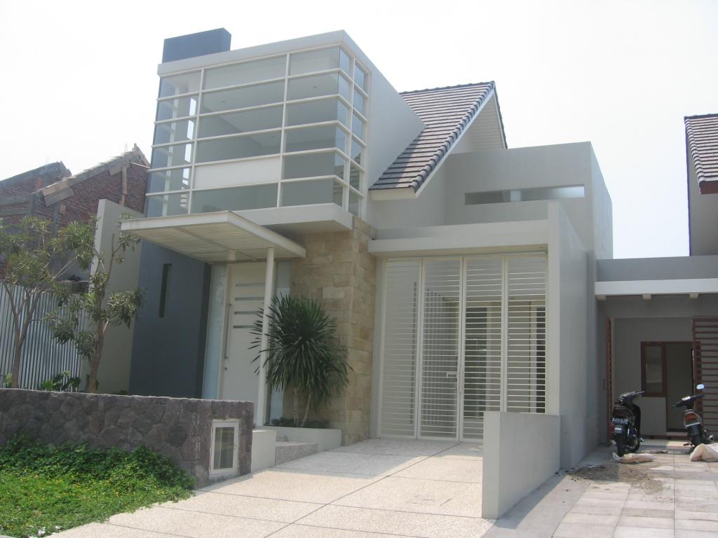 tampak depan rumah 6 meter gambar rumah