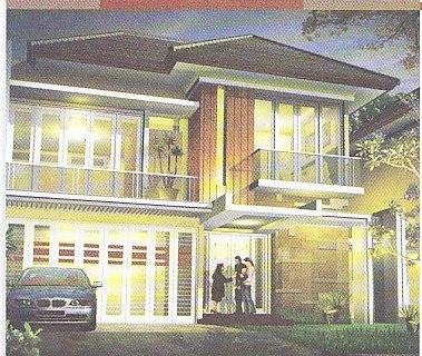 TAMPAK DEPAN RUMAH 14 METER   Gambar-Rumah-Idaman.com