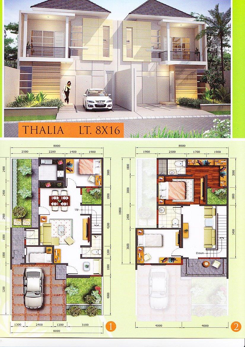 61 Desain Rumah Minimalis Lebar 8 Meter Desain Rumah Minimalis Terbaru