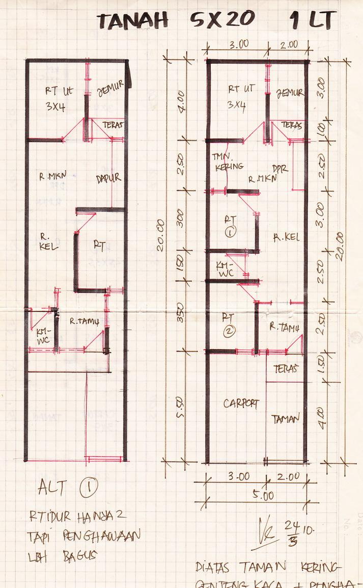 Desain Rumah Minimalis 2 Lantai Ukuran 5x15 Gambar Desain Rumah