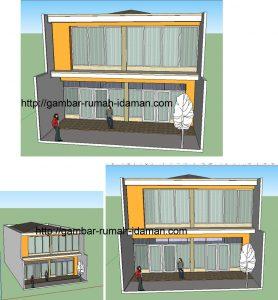 desain rumah 3dimensi