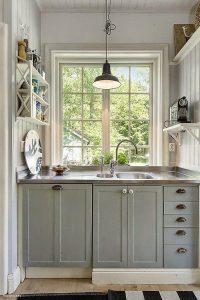 dapur warna terang