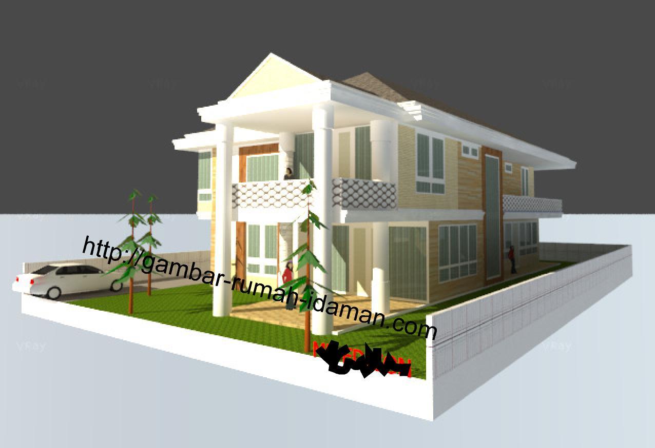 Gambar Rumah 3d Gambar Rumah Idaman Com